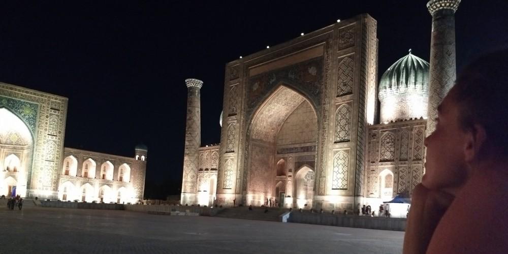Il mio viaggio in Uzbekistan.