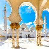 viaggio organizzato a dubai e in oman moschea di sheikh zayed abu dhabi