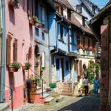 Viaggio di gruppo in pullman strada dei vini alsazia Riquewihr