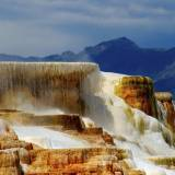 viaggio organizzato negli usa yellowstone mammoth hot springs wyoming