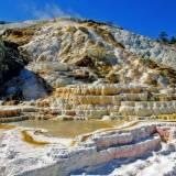 viaggio organizzato negli usa yellowstone mammoth hot springs