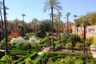 real alcazar giardini