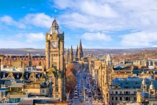 Edimburgo, viaggio organizzato con visita della Royal Mile