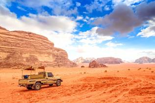 Jeep safari 4x4 nel Wadi Rum
