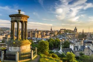 Edimburgo, vista da Calton Hill