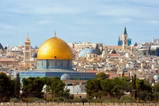 Monte del Tempio, cupola d'oro, Gerusalemme