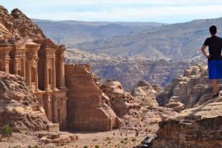 Vista su Petra