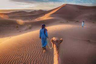 Berberi nel deserto del Sahara