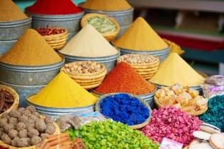 Le spezie del Marocco