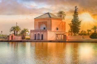 marrakech giardini di menara