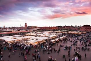 Piazza jamaa el fna marrakech