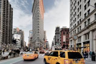 Viaggio di gruppo organizzato a New York: il Flatiron Building.