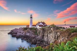 Cape Elisabeth e Faro di Portland Head