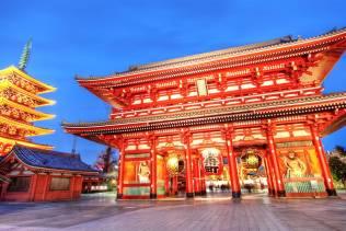 Asakusa e tempio di Sensō-Ji