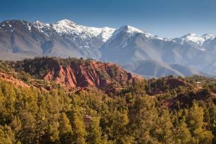 Tour in Marocco per visitare la catena montuosa dell'alto atlante.