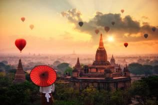 Viaggio organizzato in Birmania.