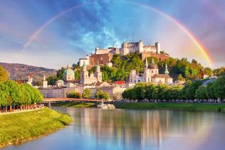 Tour organizzato in pullman in Austria tra Graz, Vienna e Salisburgo.
