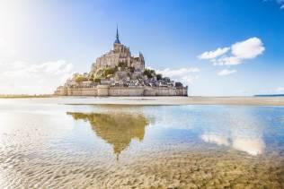 Viaggio organizzato di gruppo in Normandia e Bretagna.