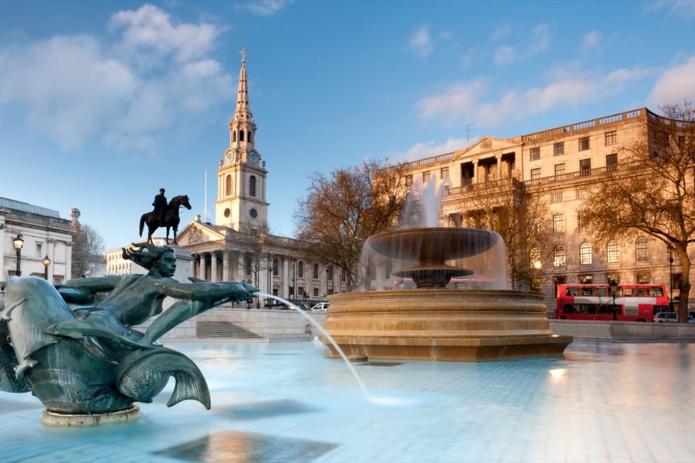 Viaggio organizzato a Londra - Trafalgar Square