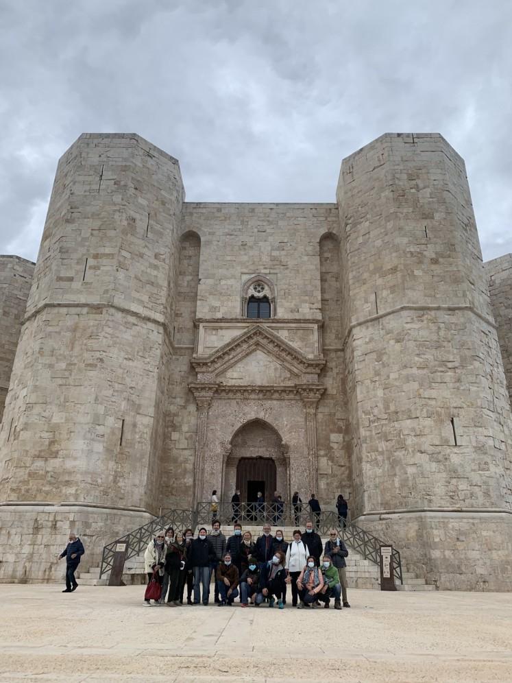 gruppo a Castel del Monte