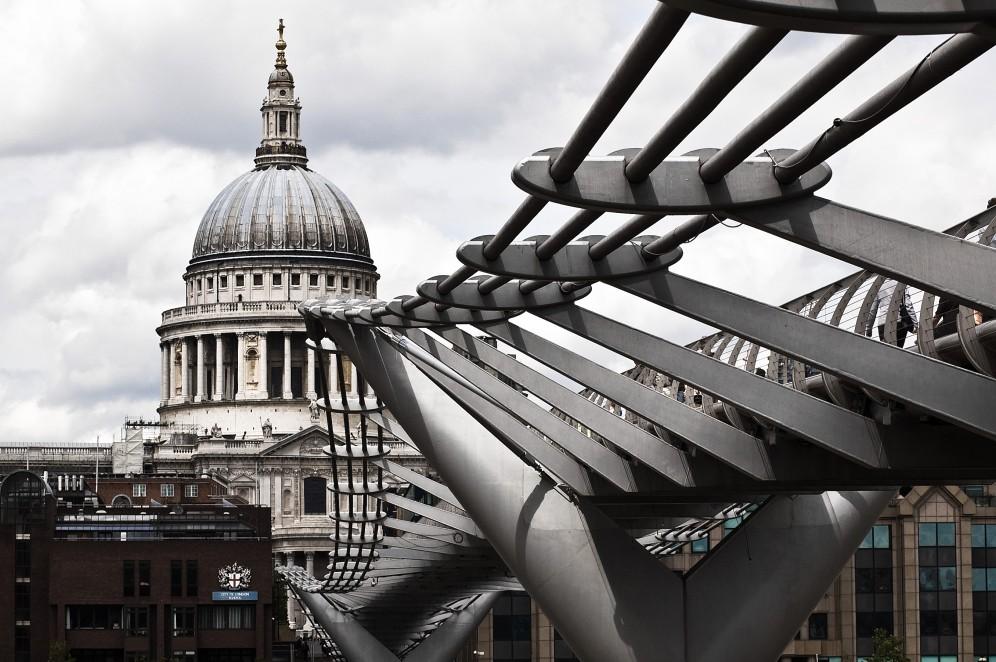 Viaggio organizzato a Londra - St Paul Cathedreal e Millenium Bridge
