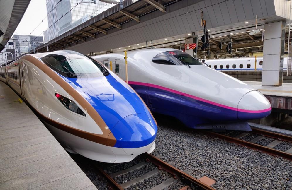 Viaggio organizzato in Giappone - treno proiettile