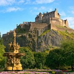viaggio organizzato in scozia castello di edimburgo