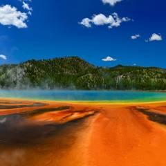 viaggio organizzato negli usa yellowstone grand prismatic spring
