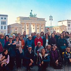 Foto di gruppo viaggio a Berlino