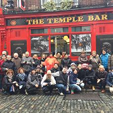 Foto di gruppo viaggio in irlanda