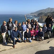 Foto di gruppo viaggio negli stati uniti
